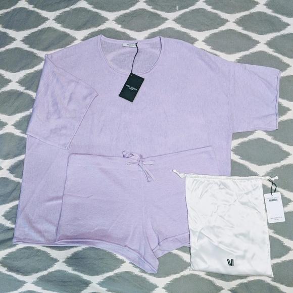60c82831a7 Mm Lafleur cashmere pajama set M L